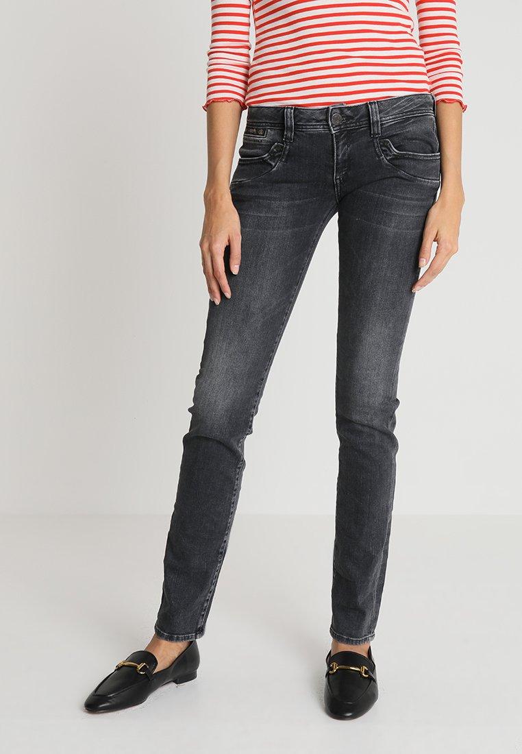 Herrlicher - PIPER SLIM - Slim fit jeans - darkness
