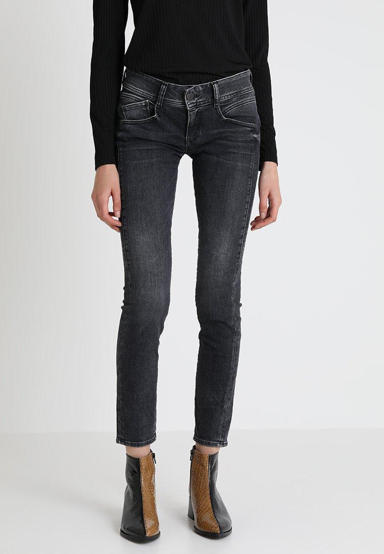 Herrlicher - GILA SLIM - Slim fit jeans - darkness