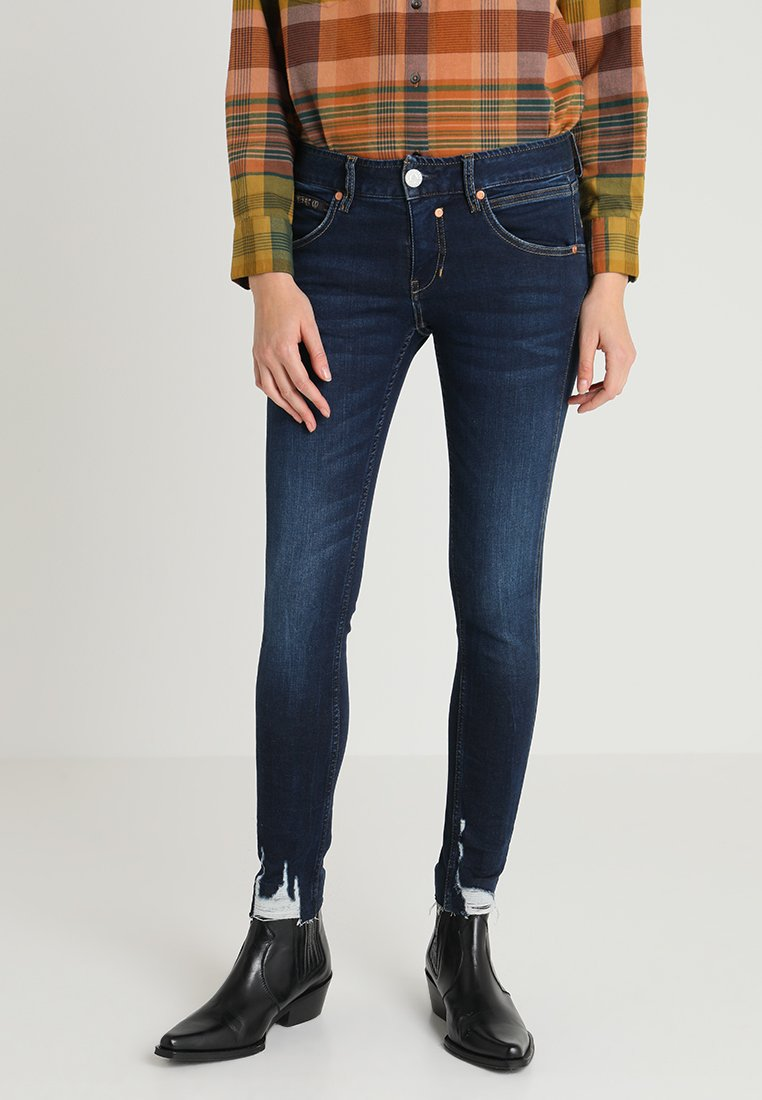 Herrlicher - TOUCH CROPPED - Jeans Skinny Fit - dull