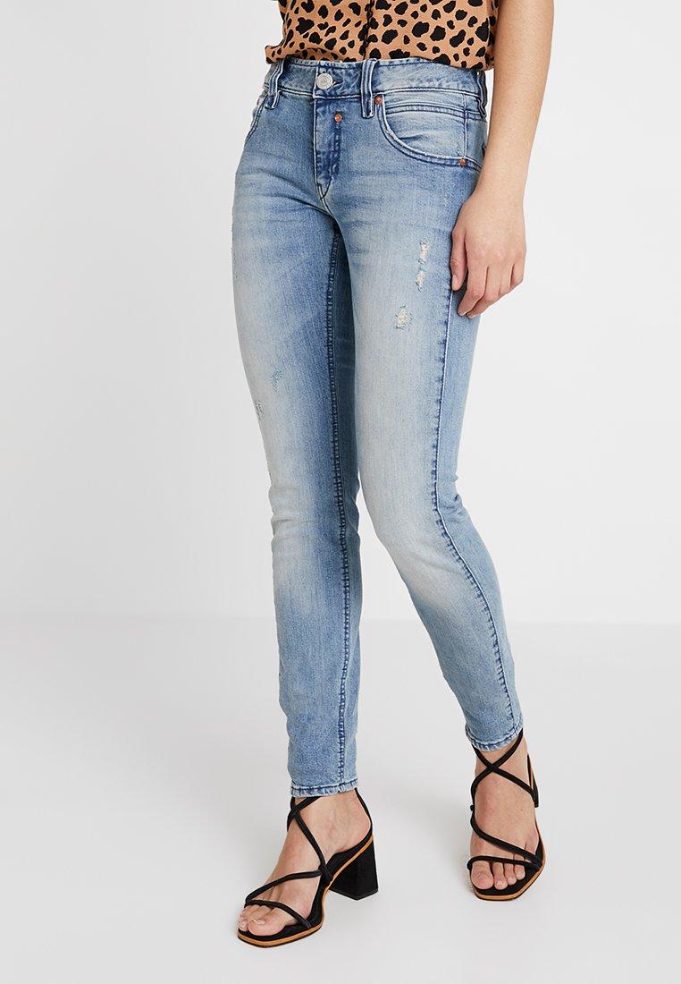 Herrlicher - TOUCH - Slim fit jeans - smashed