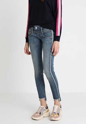 PITCH SLIM CROPPED - Jeans Skinny Fit - pole blue