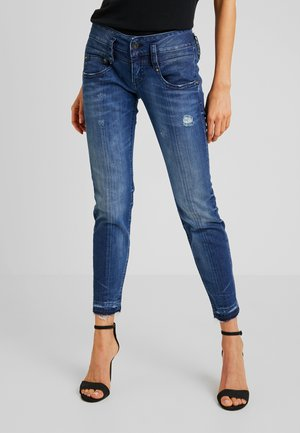 PITCH SLIM CROPPED - Slim fit jeans - fusion blue