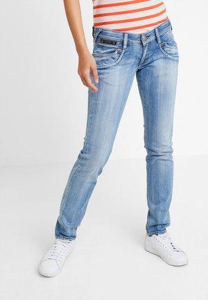 PIPER SLIM - Slim fit jeans - navy blue