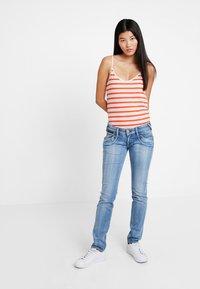 Herrlicher - PIPER - Slim fit jeans - navy blue - 1