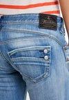 Herrlicher - PIPER SLIM - Slim fit jeans - navy blue