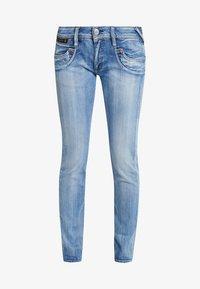 Herrlicher - PIPER - Slim fit jeans - navy blue - 3