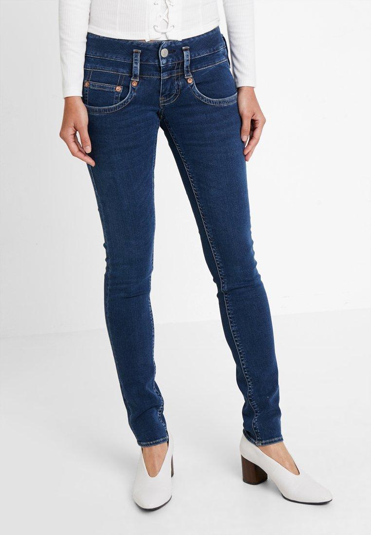 Herrlicher - PITCH SLIM - Jeans slim fit - dark sea