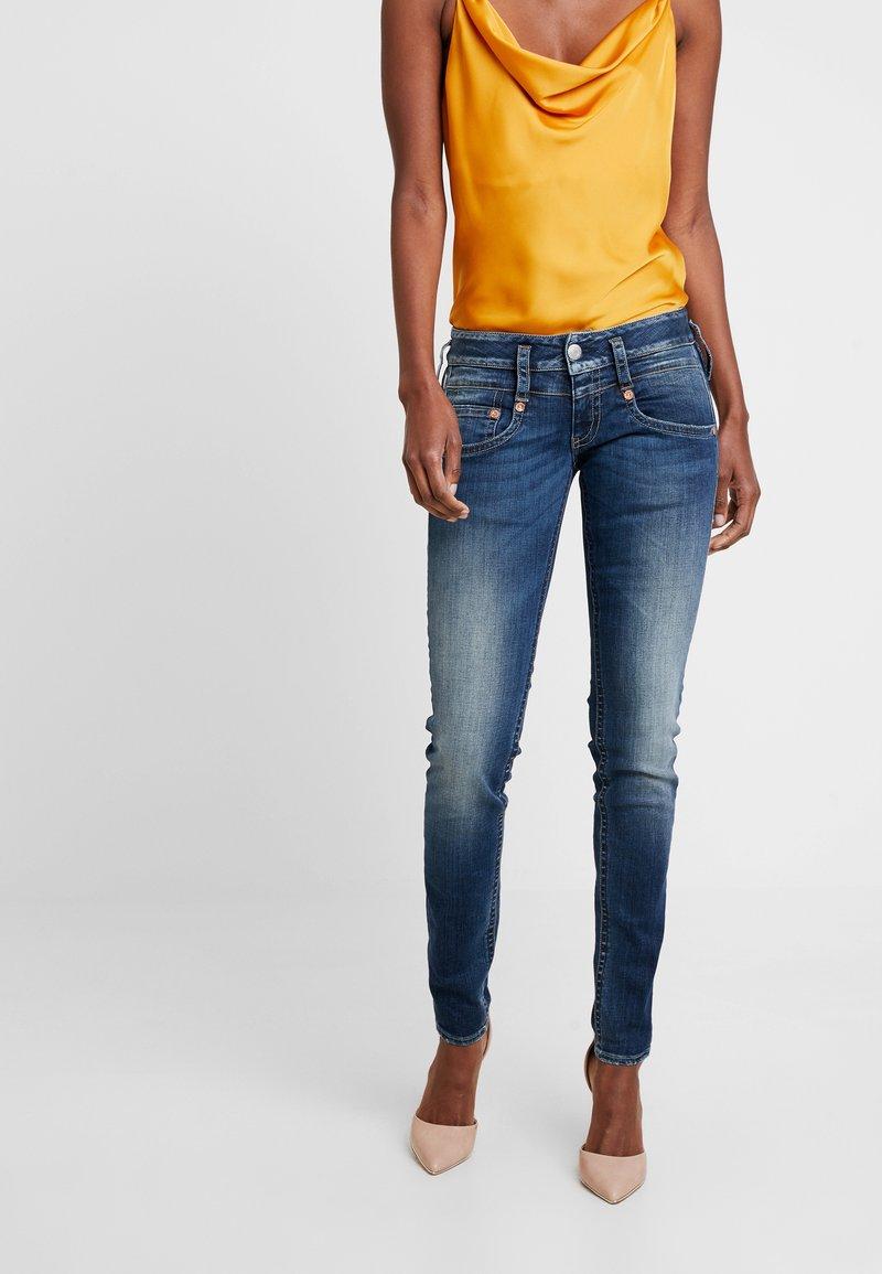 Herrlicher - PITCH SLIM - Slim fit jeans - deep water