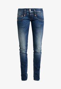 Herrlicher - PITCH SLIM - Jeans slim fit - deep water - 3