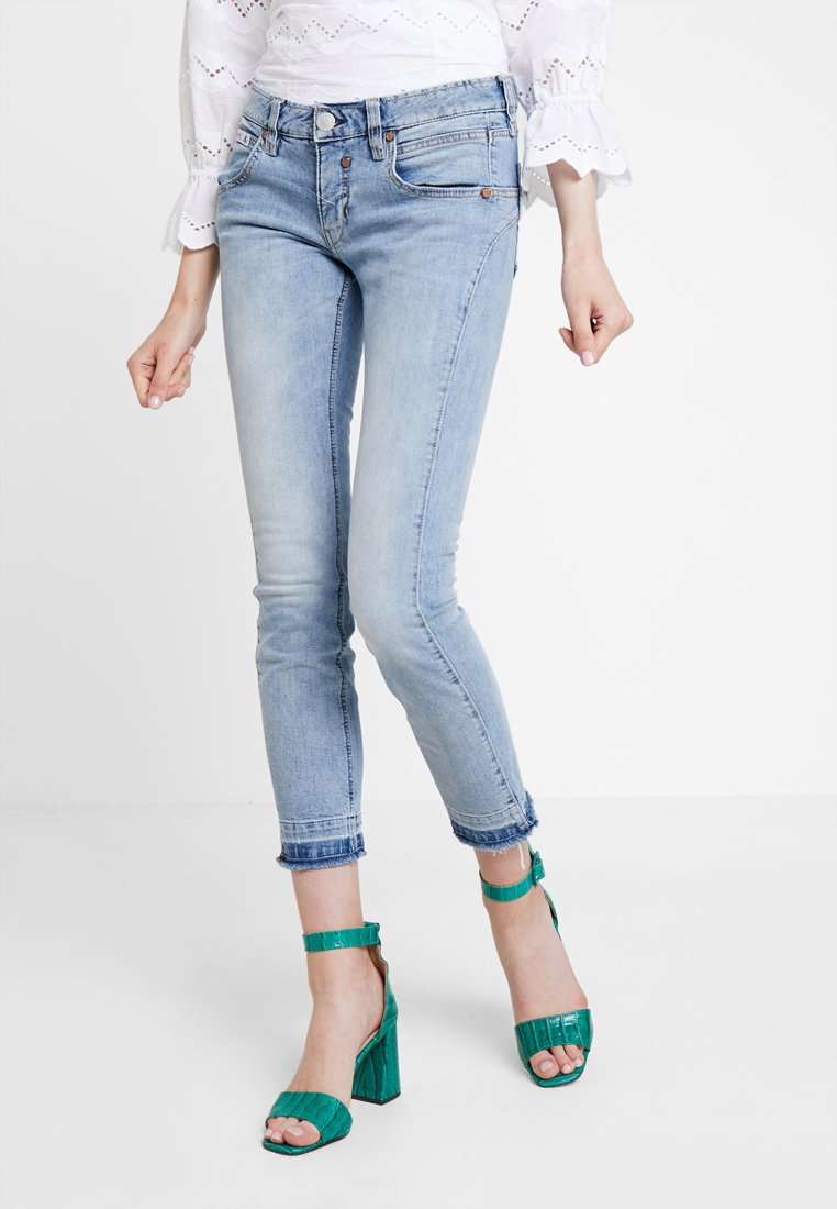 Herrlicher - TOUCH CROPPED - Jeans Skinny Fit - ultralight