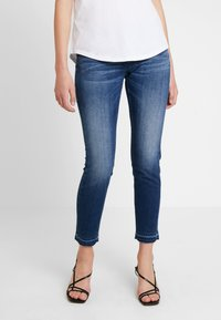 Herrlicher - TOUCH CROPPED TOUCH - Jeans Skinny Fit - moody - 0