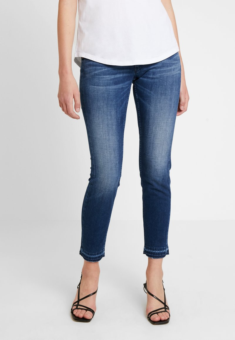 Herrlicher - TOUCH CROPPED TOUCH - Jeans Skinny Fit - moody