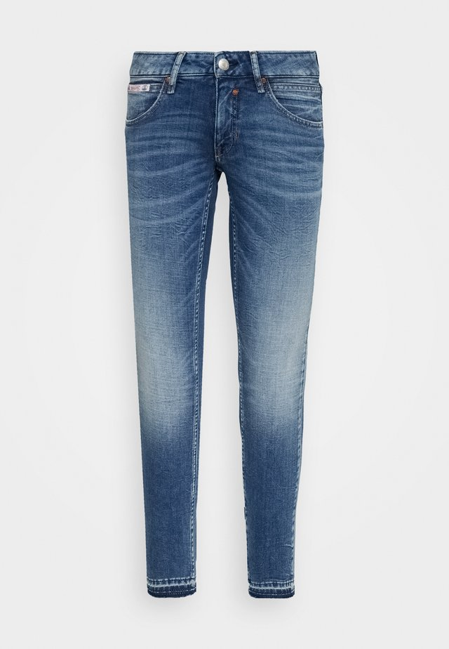 TOUCH CROPPED TOUCH - Jeans Skinny - mariana blue