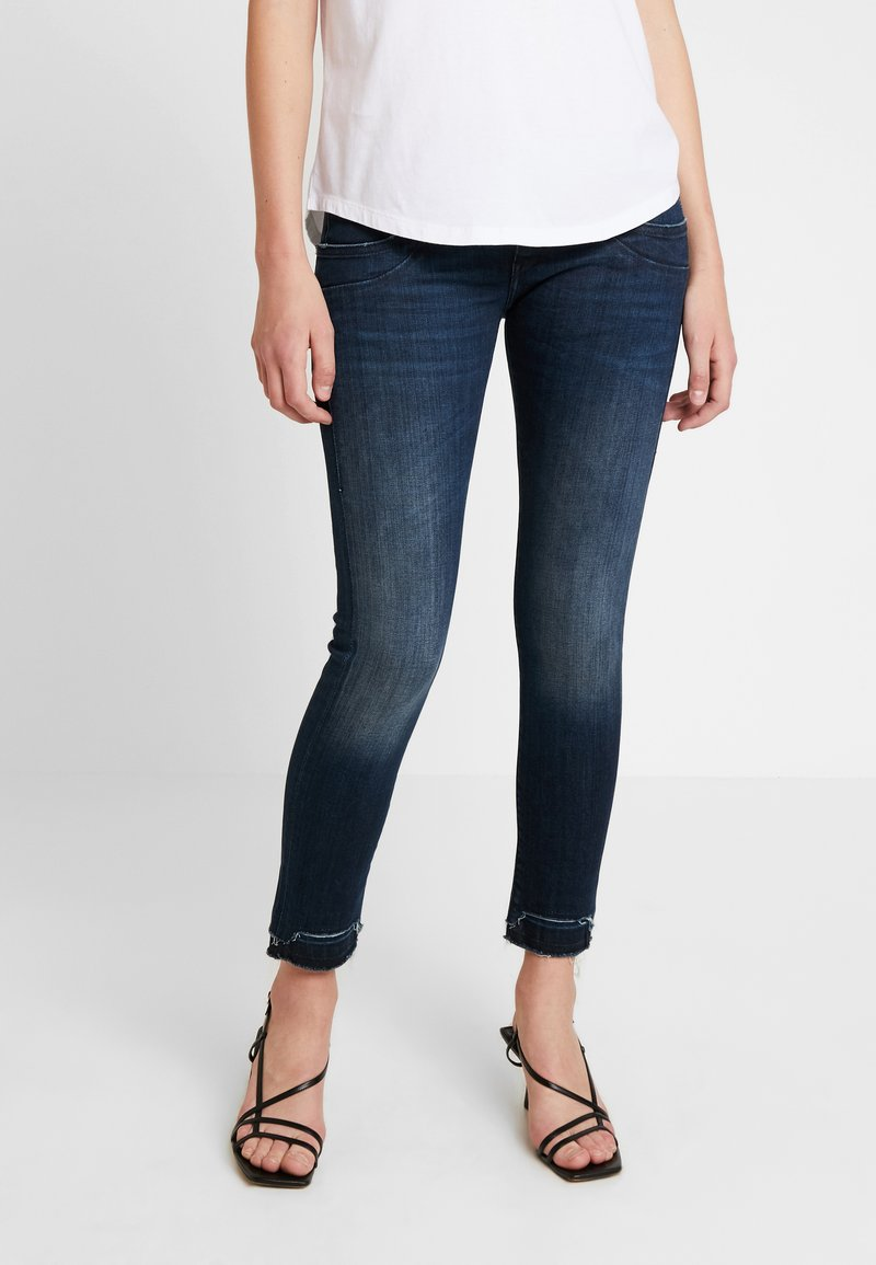 Herrlicher - PIPER SLIM CROPPED - Jeans Skinny Fit - attached