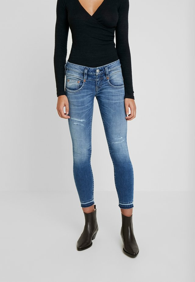 PITCH SLIM CROPPED - Jeans Skinny Fit - mariana blue