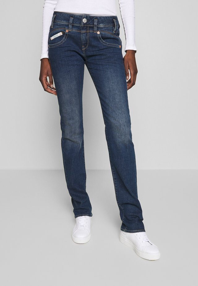 PEARL  - Straight leg jeans - evening sky