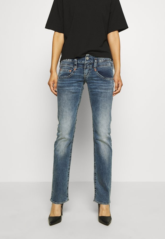 PITCH STRETCH - Slim fit jeans - mezzo