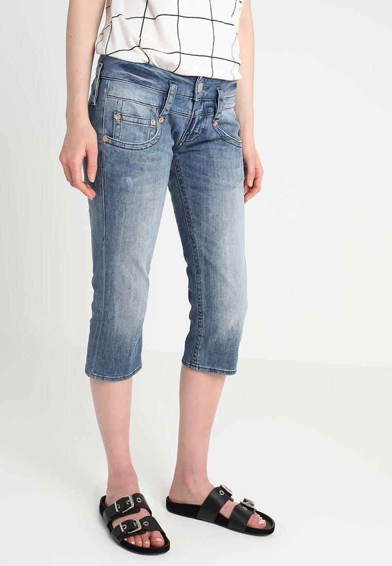 Herrlicher - Jeans Shorts - blue denim