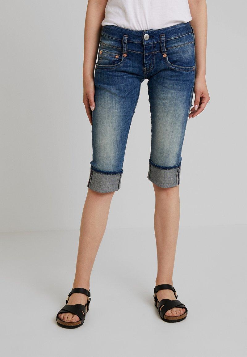 Herrlicher - PITCH - Denim shorts - bliss