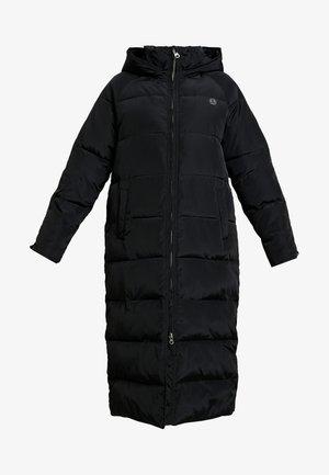 LAURENA TECH FIBRE PRINTED - Zimní kabát - black
