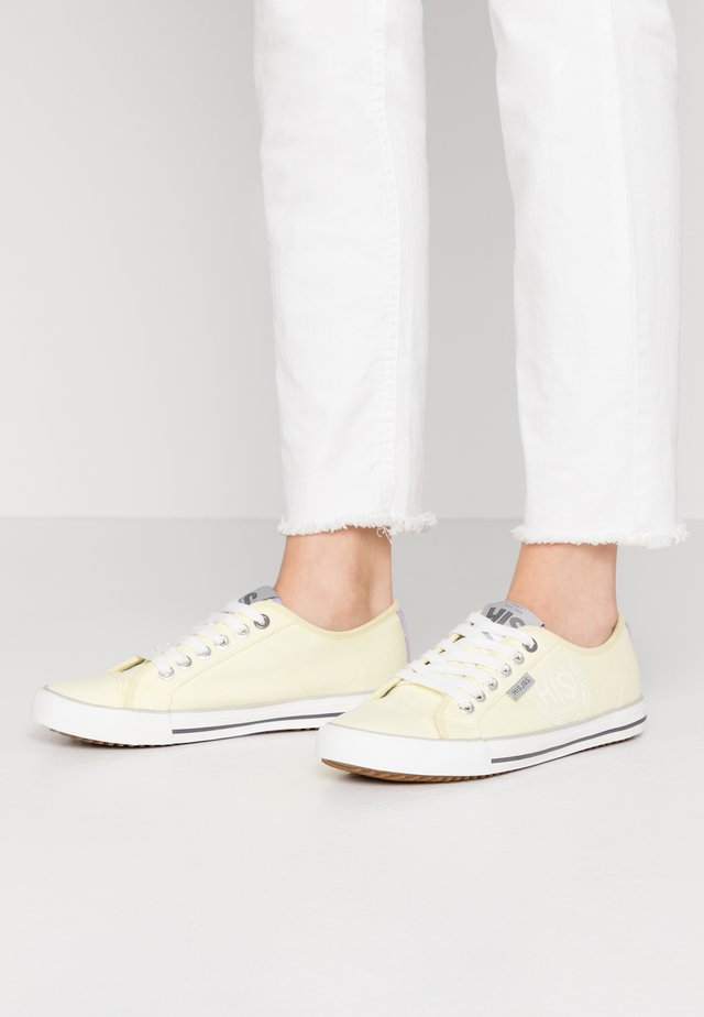 Sneakers basse - yellow