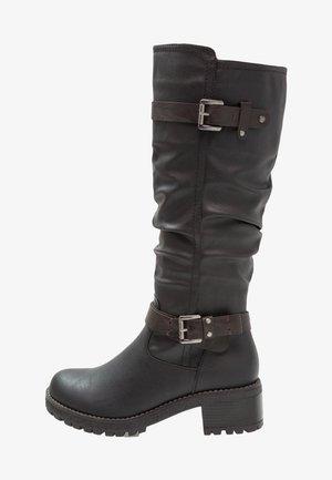 Cowboy- / bikerstøvler - black