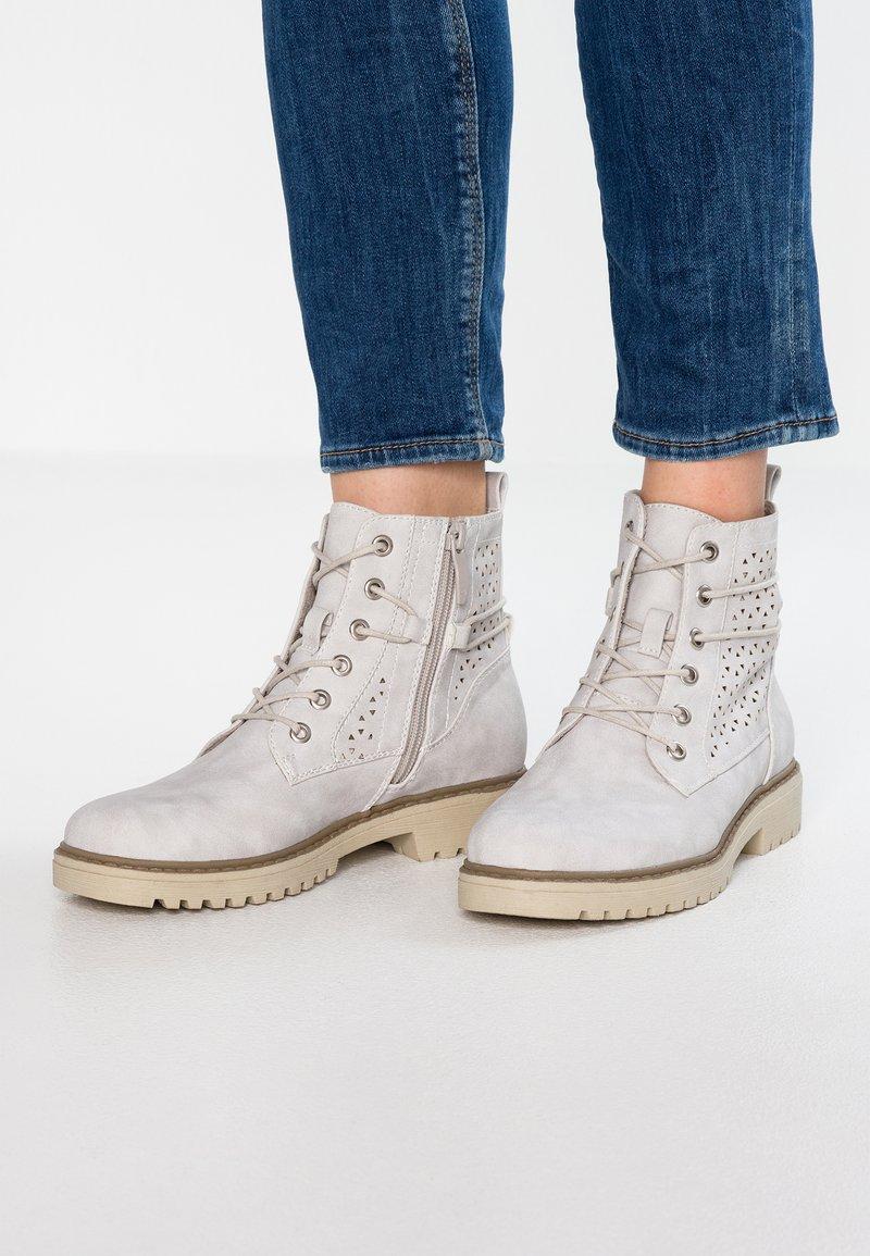 H.I.S - Kotníková obuv - grey