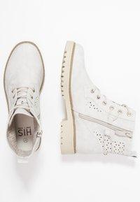 H.I.S - Kotníková obuv - grey - 3