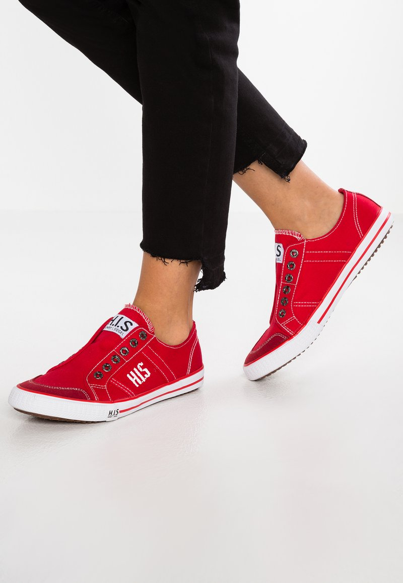 H.I.S - Loafers - red