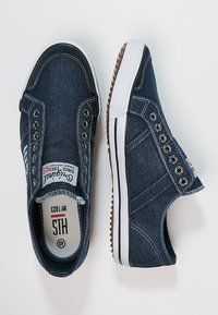 H.I.S - Loafers - navy - 1