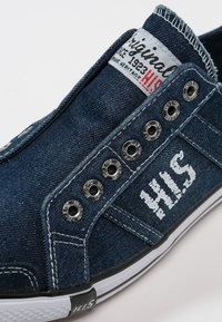 H.I.S - Loafers - navy - 5