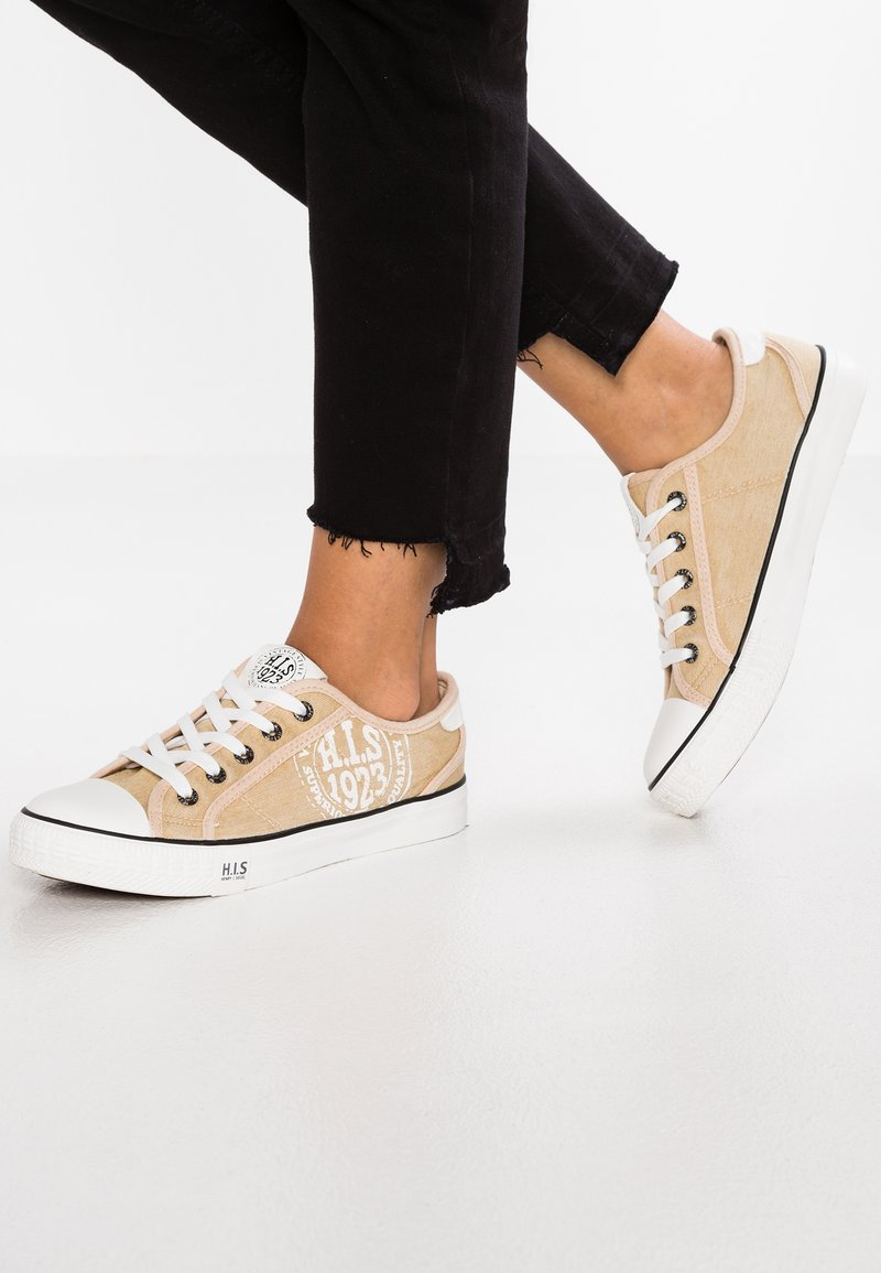 H.I.S - Sneakers - washed beige