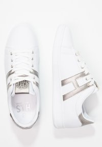 H.I.S - Sneakers basse - white/silver - 3