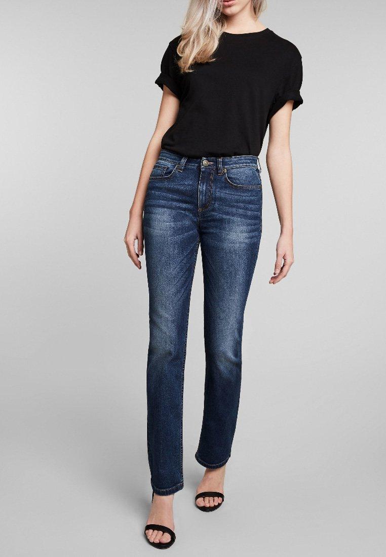 H.I.S - COLETTA - Jeans Straight Leg - blue