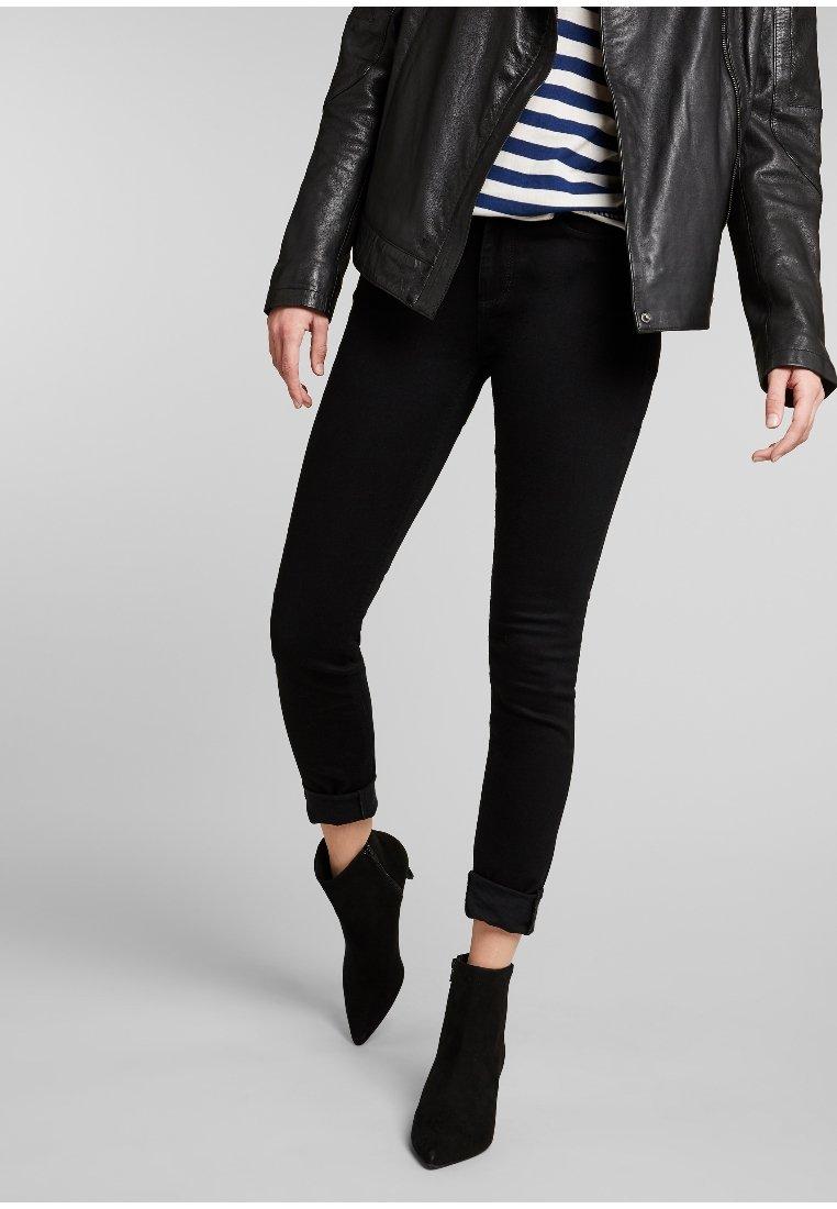 H.I.S - LORRAINE - Jeans Skinny Fit - black