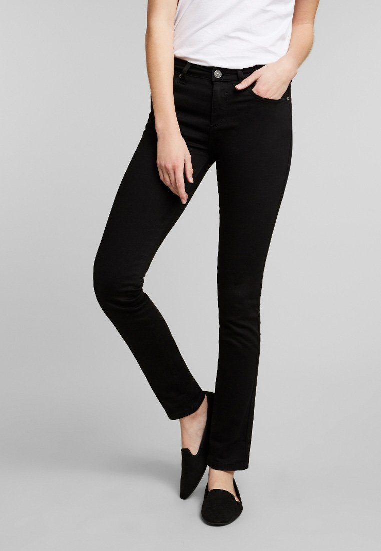 H.I.S - MARYLIN - Jeans Slim Fit - black
