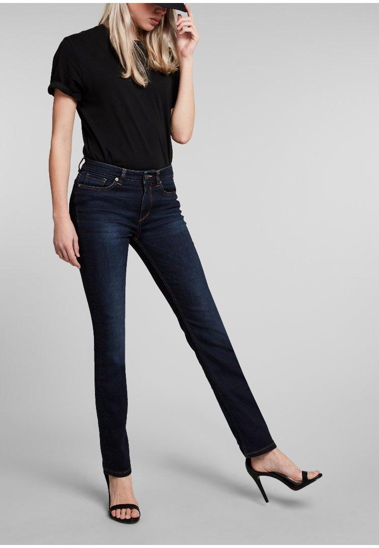 H.I.S - COLETTA - Jeans Slim Fit - advanced dark blue wash
