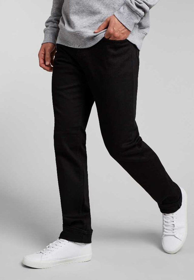 STANTON - Straight leg jeans - pure black wash