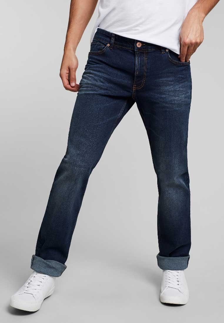 H.I.S - STANTON - Jeans Straight Leg - pure dark blue wash