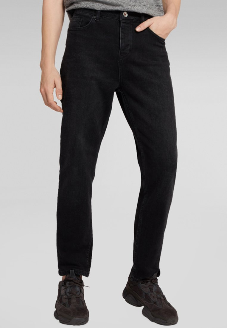 H.I.S - ERROL - Jeans Straight Leg - black