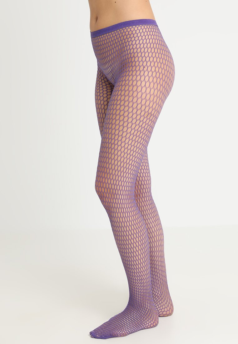 Hudson - FISHNET - Rajstopy - purple