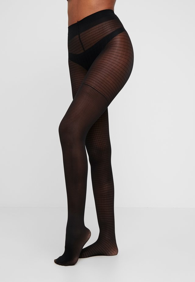 40 DEN GRAPHICS - Collants - black