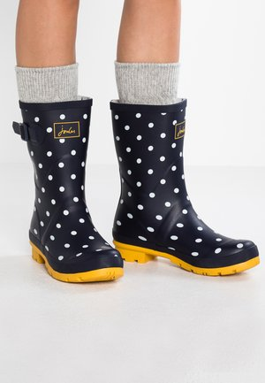 MOLLY - Bottes en caoutchouc - french navy/multicolor