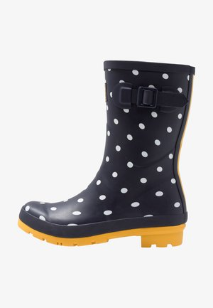 MOLLY - Gummistiefel - french navy/multicolor