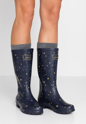 ROLL UP WELLY - Regenlaarzen - dark blue