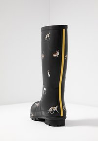 Tom Joule - ROLL UP WELLY - Kumisaappaat - black - 5