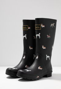 Tom Joule - ROLL UP WELLY - Kumisaappaat - black - 4