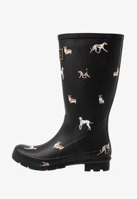 Tom Joule - ROLL UP WELLY - Kumisaappaat - black - 1