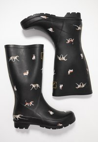 Tom Joule - ROLL UP WELLY - Kumisaappaat - black - 3