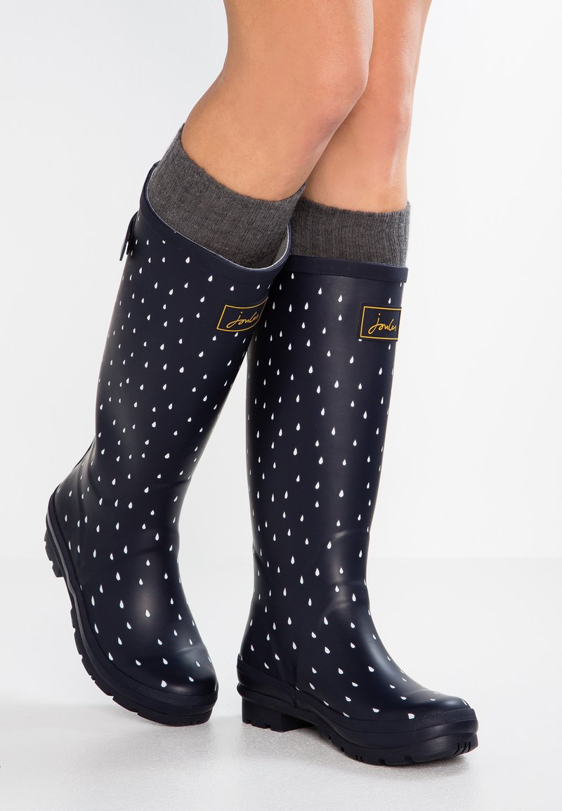 Tom Joule - WELLY PRINT - Stivali di gomma - navy